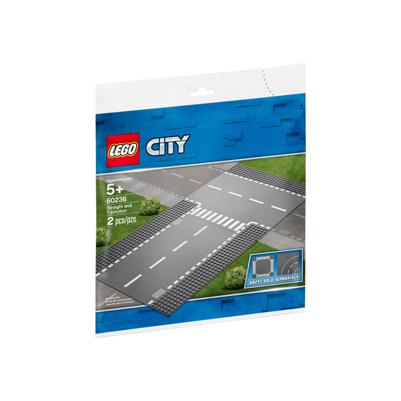 Lego City 60236 : Route droite et intersection