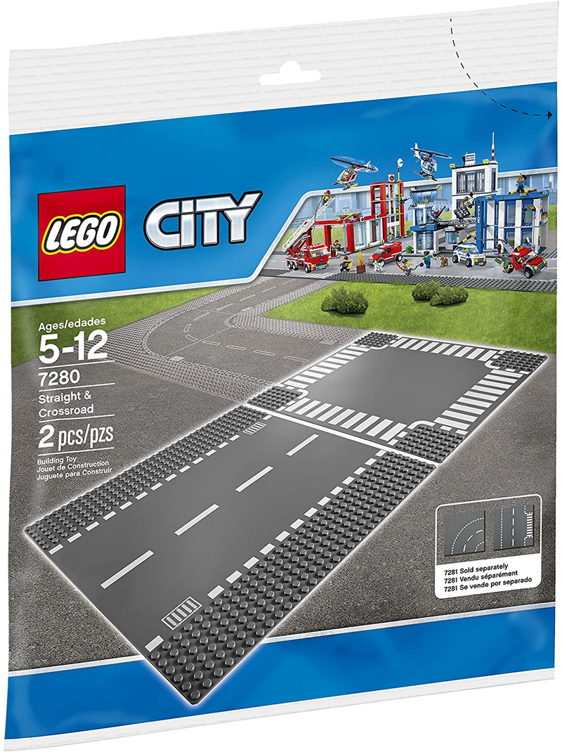 LEGO CITY 7280 - RAILS DROITS & CROISEMENT