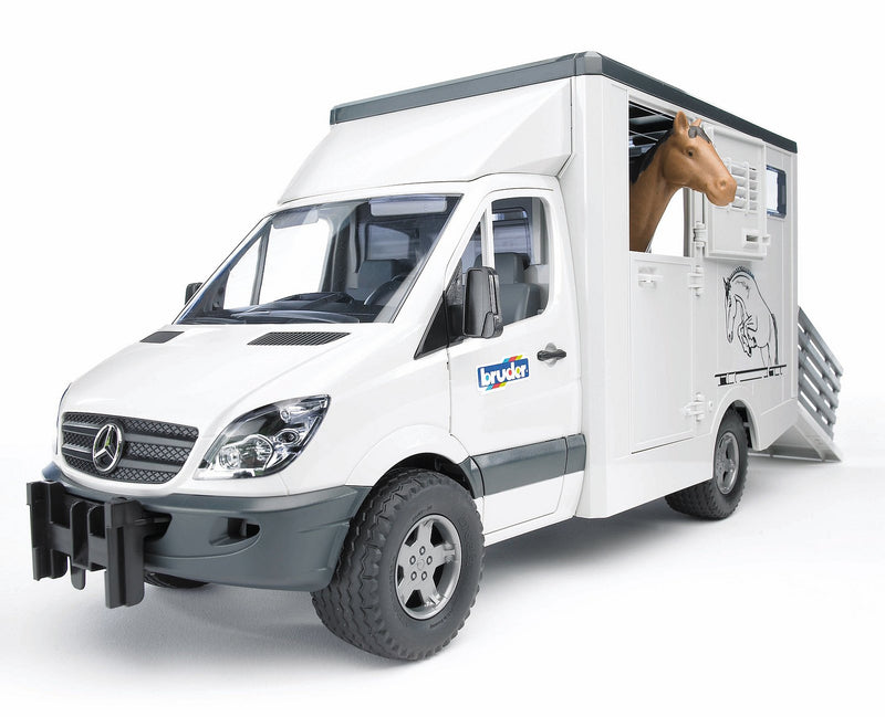 Mercedes Benz Sprinter pour le transport d'animaux - Bruder 02533