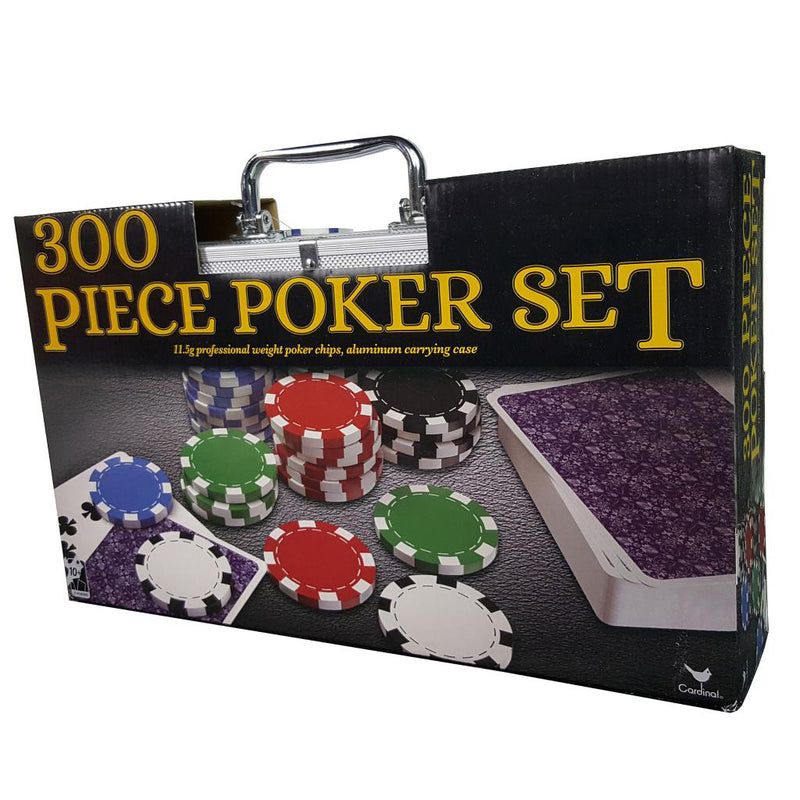 ENS 300 PIECES POKER VALISE