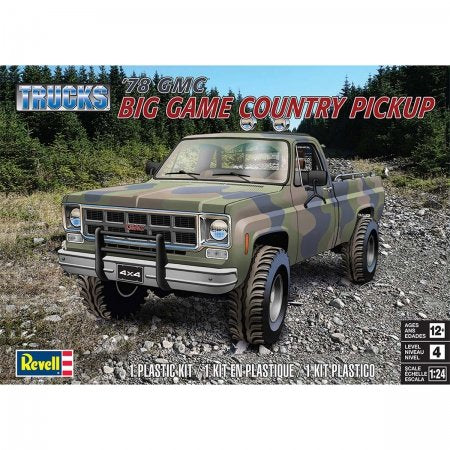 78 GMC BIG GAME PICKUP A COLLER