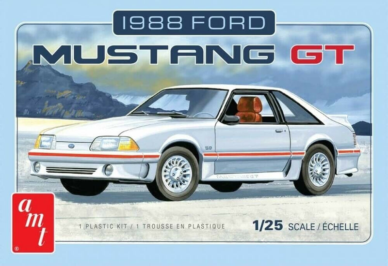 1988 FORD MUSTANG GT - AMT 1/25