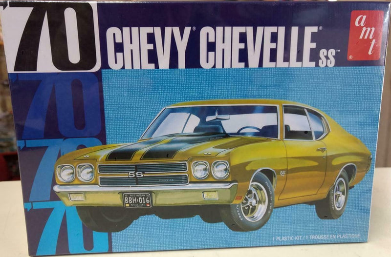 '70 CHEVY CHEVELLE SS - AMT 1/25