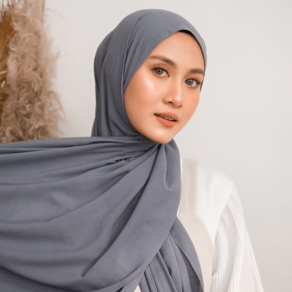 Detaa Shawl Soft Denim