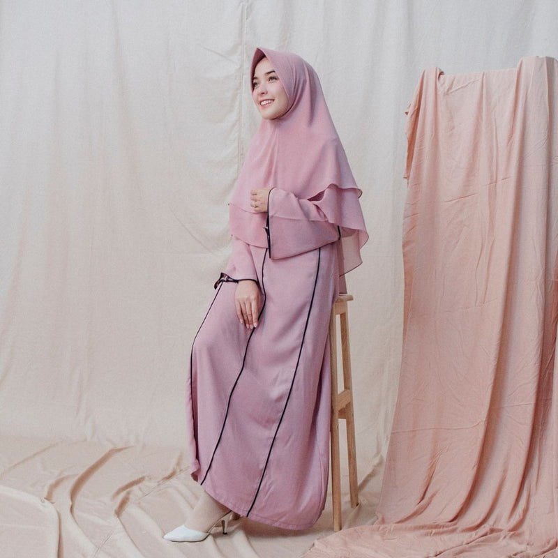 Maryam Dress Dusty Purple