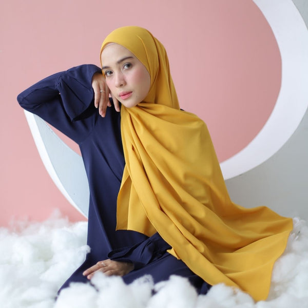 Woody Shawl Mustard