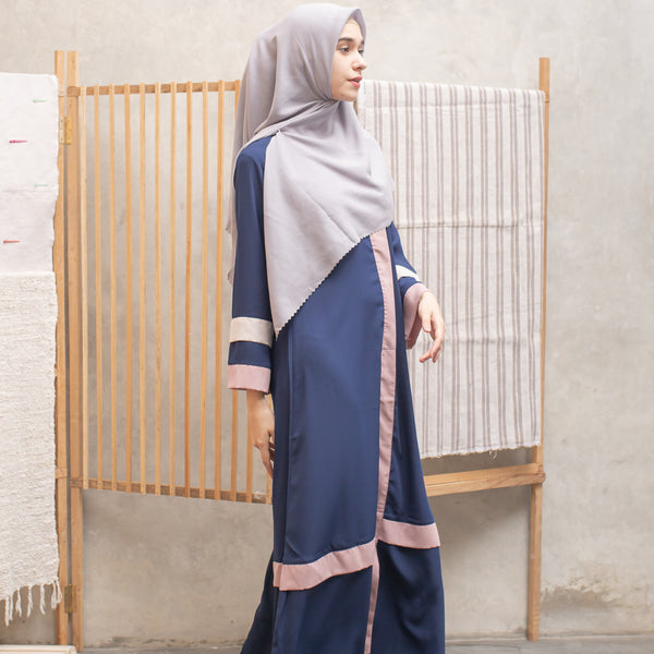 Kamilah Dress Navy