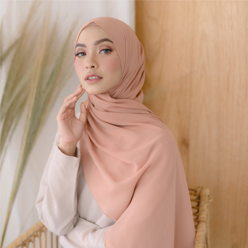 Bawal Shawl Soft Orange
