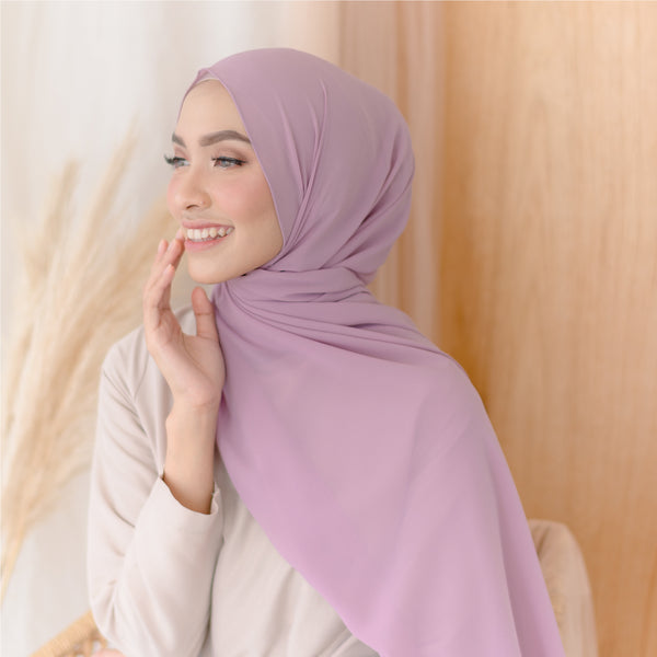 Bawal Shawl Soft Purple