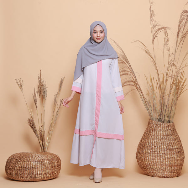 Kamilah Dress Grey