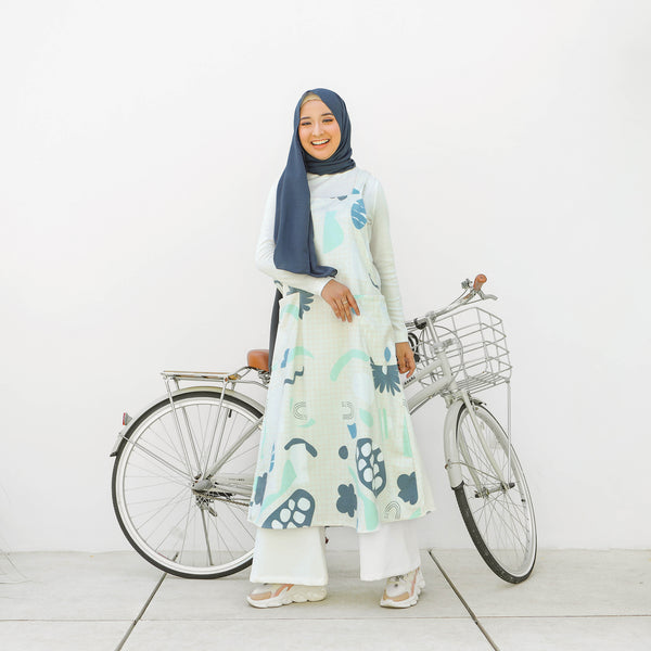 Kiya Overall Blue Mint