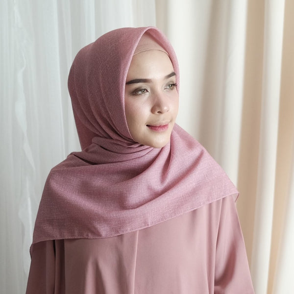 Laiqa Square Dusty Pink