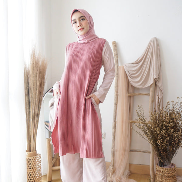 Adelle Jumpsuit Dusty Pink