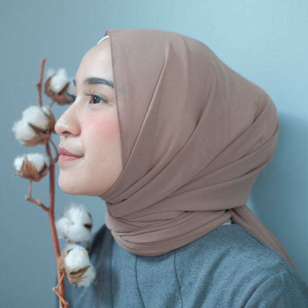 Bawal Shawl Soft Hazelnut