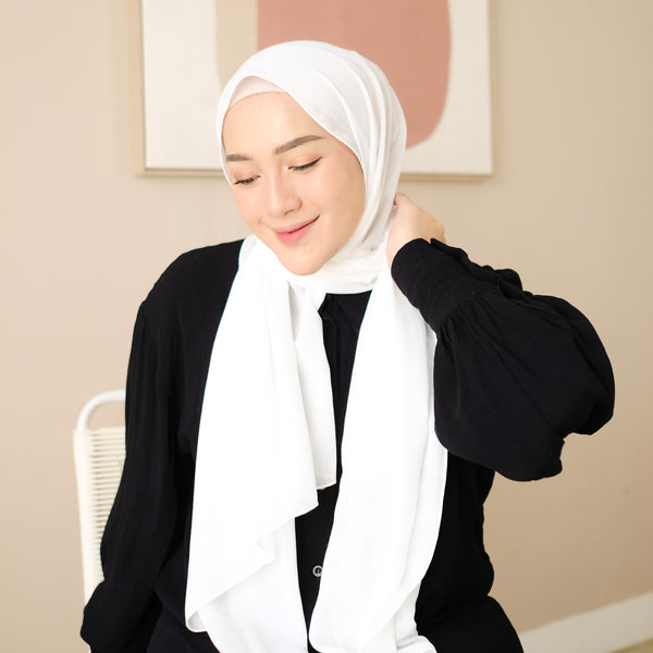 Mima Shawl Broken White