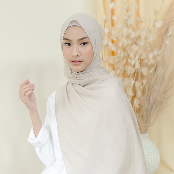 Detaa Shawl Light Cream