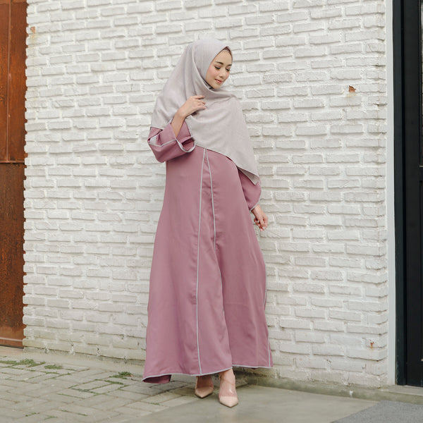 Shafiyah Dress Dark Purple
