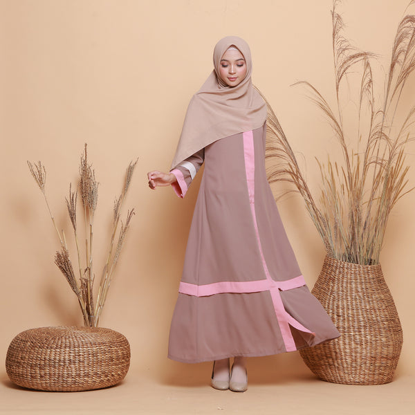 Kamilah Dress Brownie
