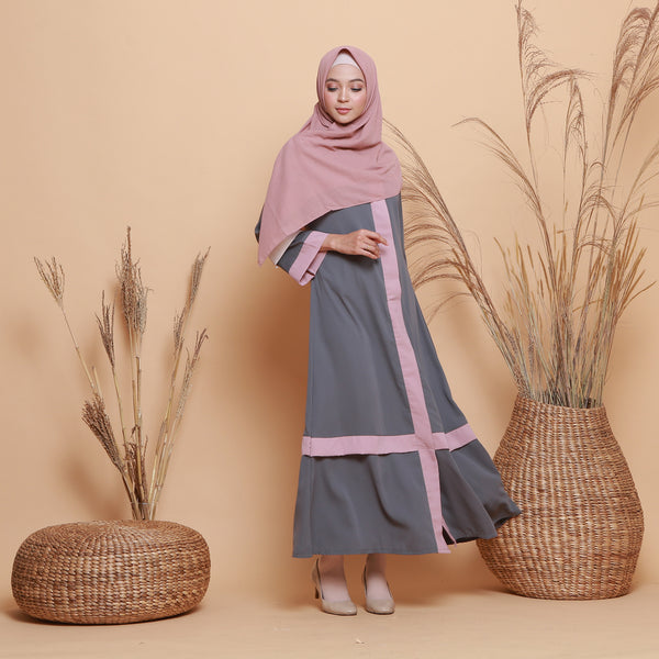 Kamilah Dress Dark Grey