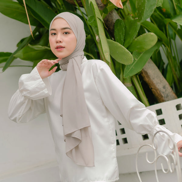 Bawal Shawl Cream Almond