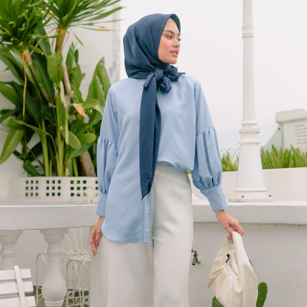Keya Shirt Soft Denim