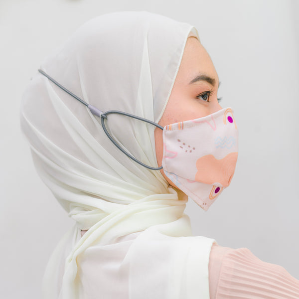 Headloop Mask Soft Pink