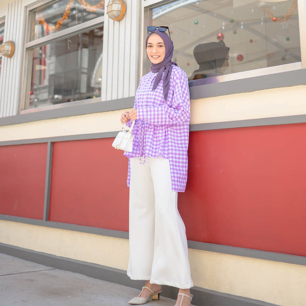 Claudia Top Shirt Lilac