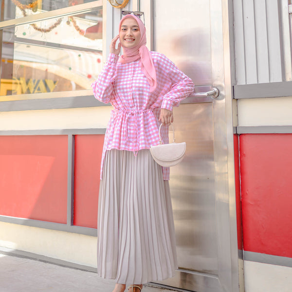 Claudia Top Shirt Cotton Candy