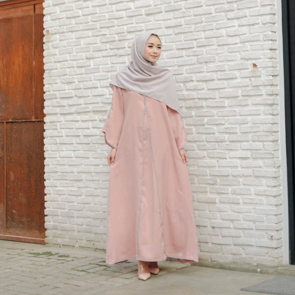 Shafiyah Dress Pink Peach