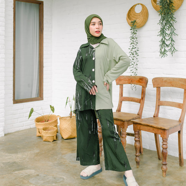Naura Pajamas Green Tea