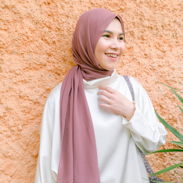 Bawal Shawl Dusty Purple