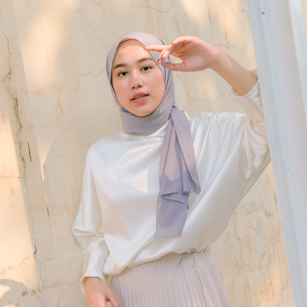 Detaa Shawl Light Grey
