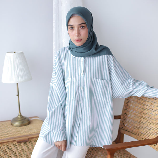 Kaila Shirt Green Tosca