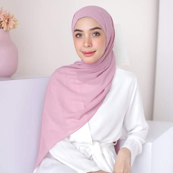 Bawal Inner Shawl Soft Purple