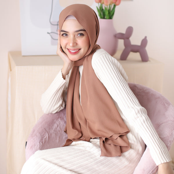 Kana Shawl Soft Hazelnut