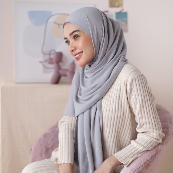 Kana Shawl Light Grey