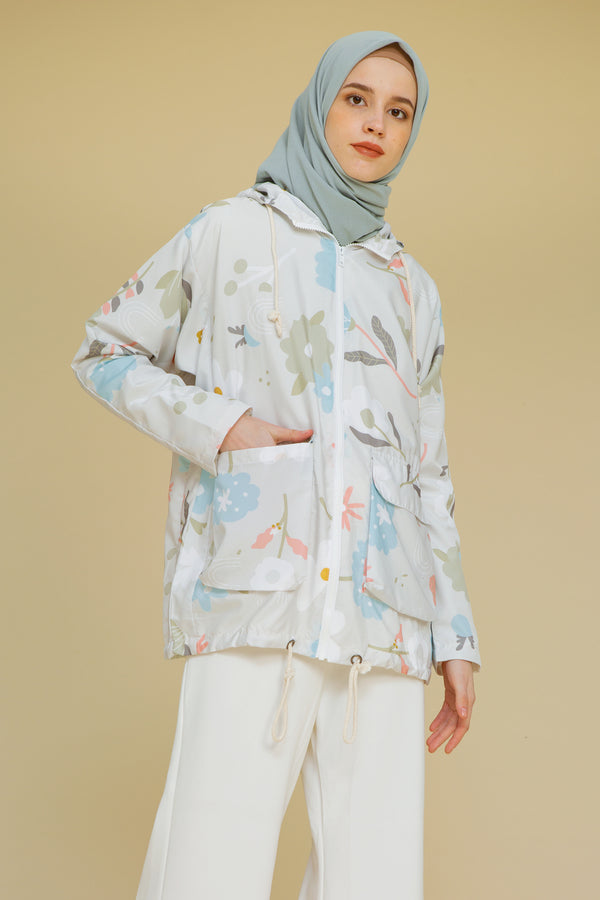 Jacket Series 4 White Forest
