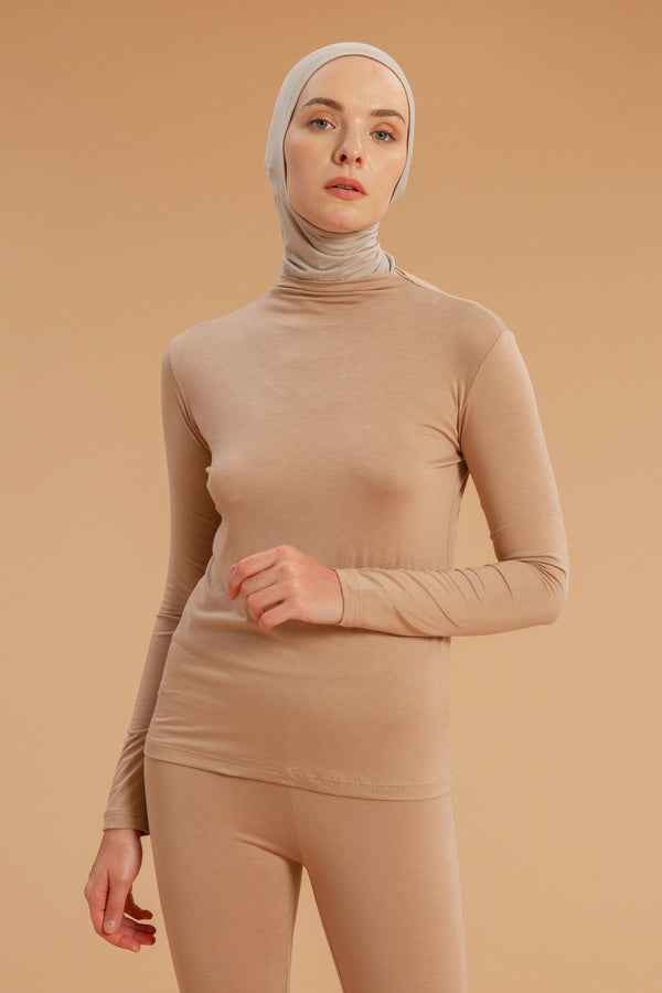 Inner Shirt Nude Cream