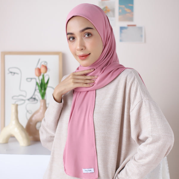 Taqiya Instan Square Dusty Pink