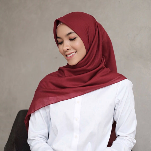 Tara Voal Light Maroon