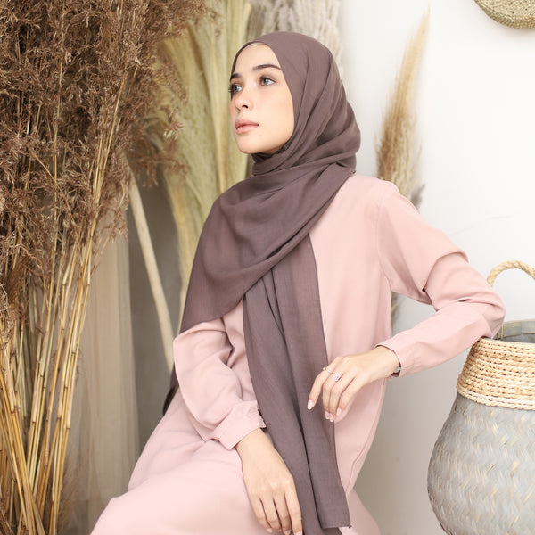 Mima Shawl Brown Muffin