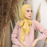 Defect Mima Shawl Light Mustard