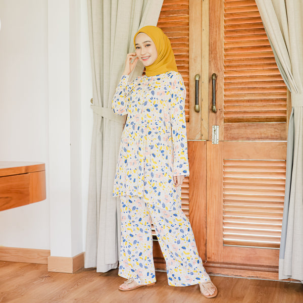 Naura Pajamas Summer Flower