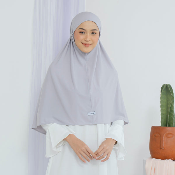 Nuha Instan Light Grey