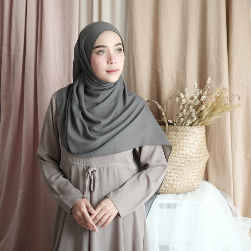 Mima Shawl New dark Grey