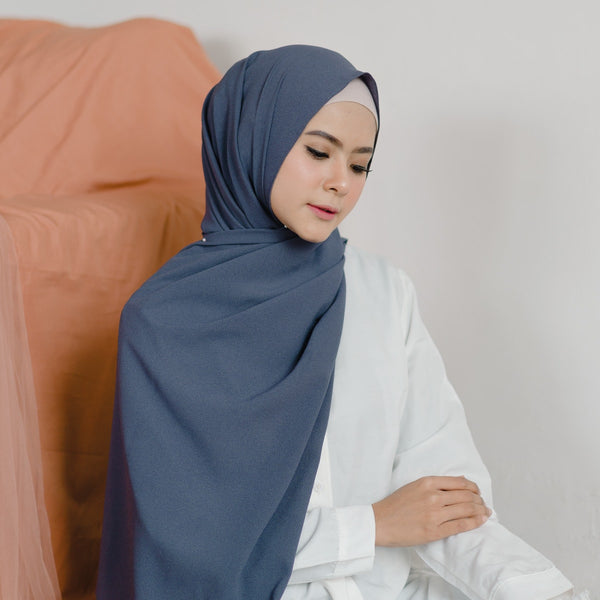 Woody Shawl Dark Grey