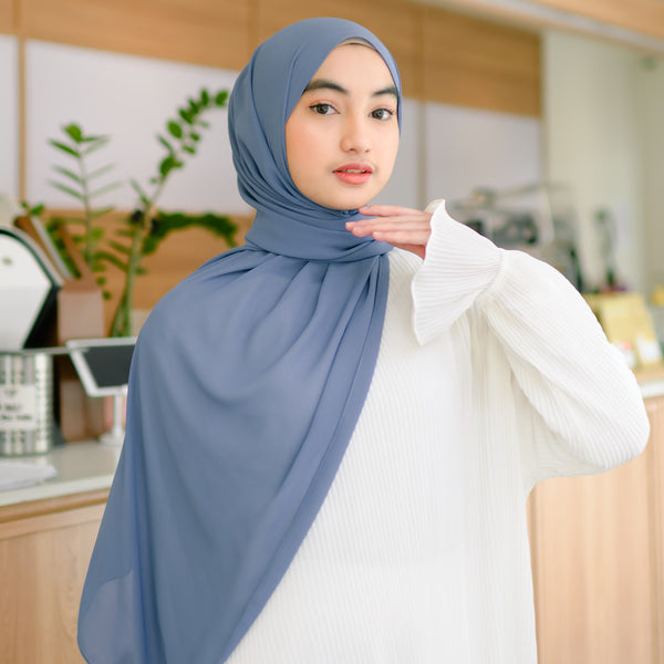 Bawal Shawl Denim