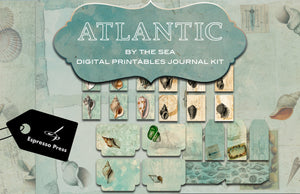 Atlantic By The Sea Digital Printables Journal Kit