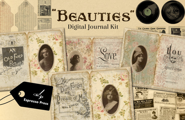 Beauties Digital Journal Kit