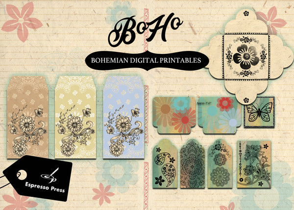 BoHo Digital Printables